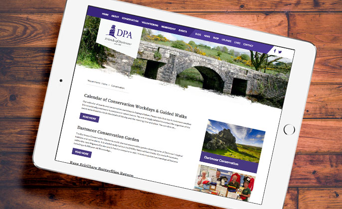 Dartmoor Preservation - Web Design and Marketing