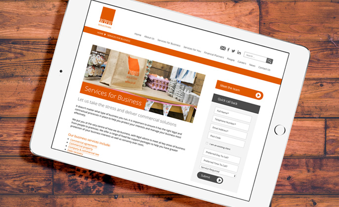 WBW Solicitors - Web Design and Marketing