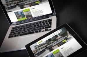 aado_screenshot_website - Web Designers Torquay Devon