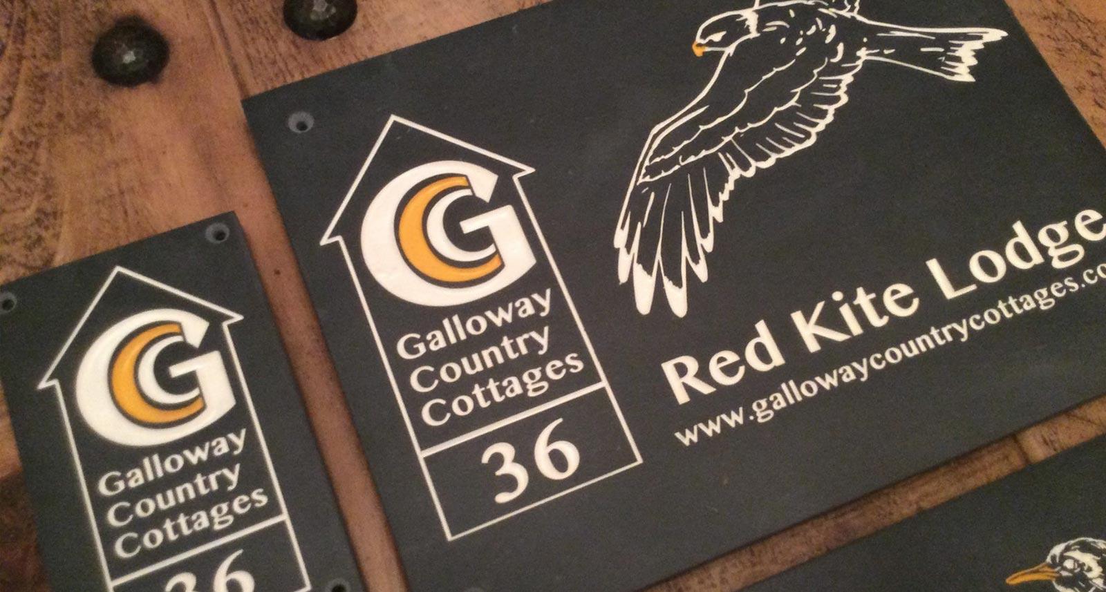 House Signs In Slate - Web Designers Torquay Devon