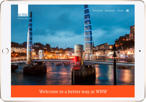 wbw solicitors - Web Design